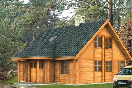 дома на основе деревянного каркаса г.Северодвинск